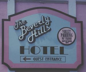 dark, grunge, and hotel image