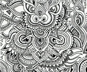art, zentangle, and draw image