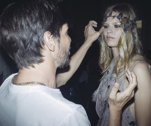 Atelier Versace, backstage, and Versace image