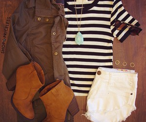 outfit, style, and fashion. clothes image