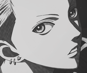 nobu, Nana, and black stones image