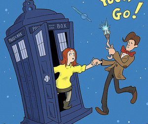 doctor who, dr who, and amy pond image