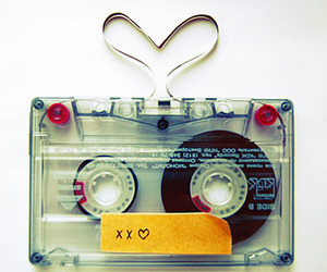 love, tape, and heart image