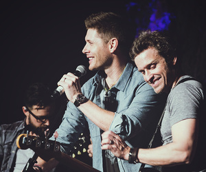 Jensen Ackles and rob benedict image
