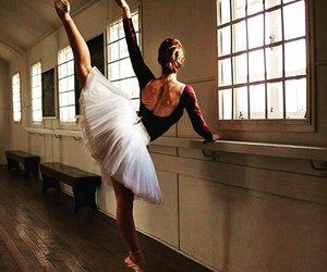 ballerina, flexible, and ballet image