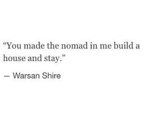 beautiful, nomad, and quotes image