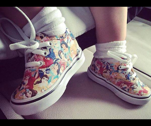 baby shoes, disney, and disney princesses image
