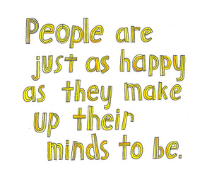 happy, quote, and typography image