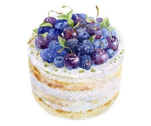 cake, overlay, and transparent image