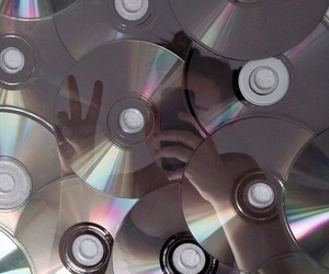 grunge, cd, and pale image