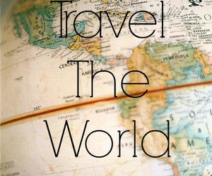 travel, world, and together image