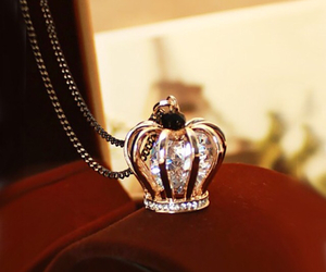 crown, necklace, and accessories image