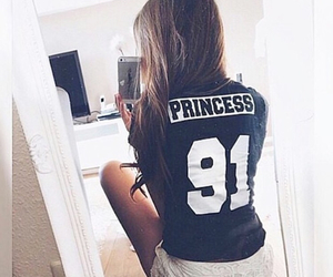 girl, princess, and hair image