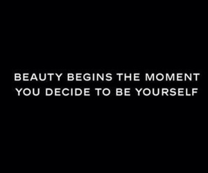 beauty, black, and quote image