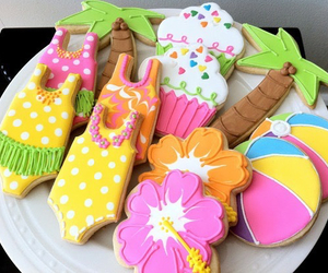 summer, Cookies, and food image