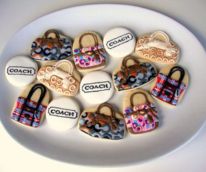 coach, Cookies, and purse image