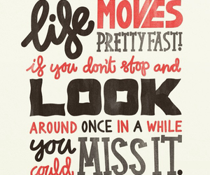 quote, life, and fast image