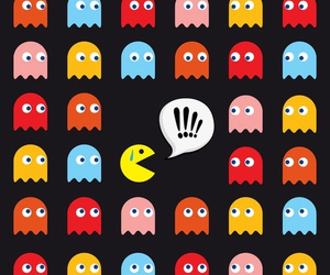 pacman and wallpaper image