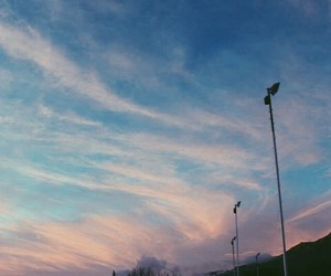 grunge, hipster, and sky image