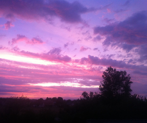 purple, pink, and sky image