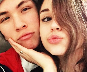 couple, ex, and maggie lindemann image