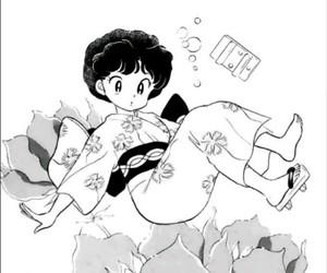 manga, akane tendo, and ranma 1 2 image