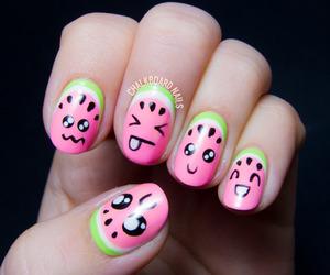 nails and kawaii image