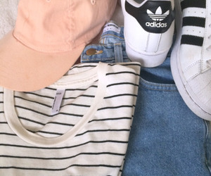 addidas, outfit, and shoes image