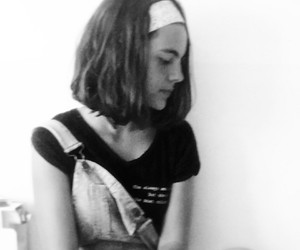 girl, hairband, and tumblr image