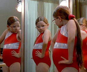 little miss sunshine, fat, and mirror image