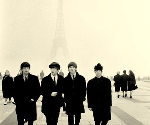 the beatles, paris, and beatles image