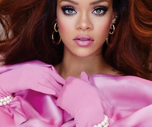 rihanna, pink, and hair image