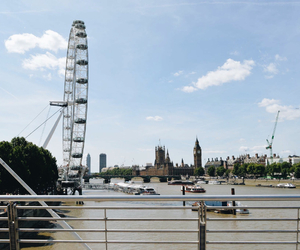 Big Ben, london, and london eye image