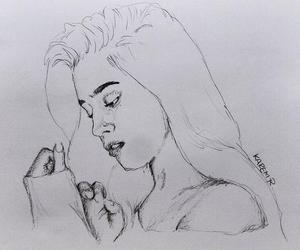 drawing, fanart, and ally brooke image
