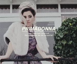 marina and the diamonds, marina, and primadonna image