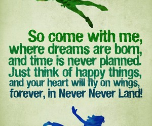 peter pan and never land image