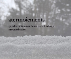 definition and procrastination image