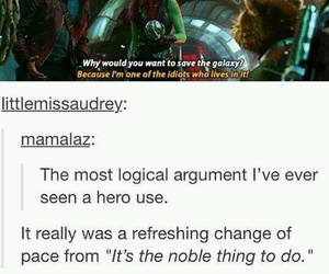 guardians of the galaxy, funny, and Marvel image