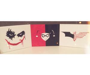 art, batman, and canvas image