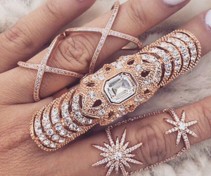 fashion, rings, and jewelry image