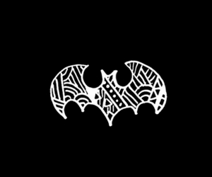 batman, overlay, and wallpaper image