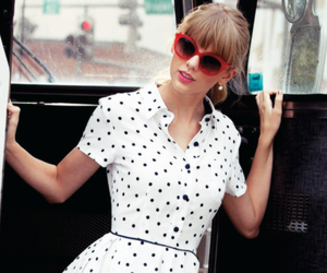 Taylor Swift, keds, and red image