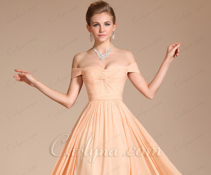 evening dress, dress, and fashion image
