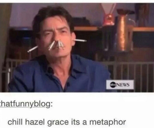 charlie sheen, funny, and tumblr image