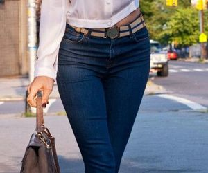 outfits, cute outfits, and jeans with heels image