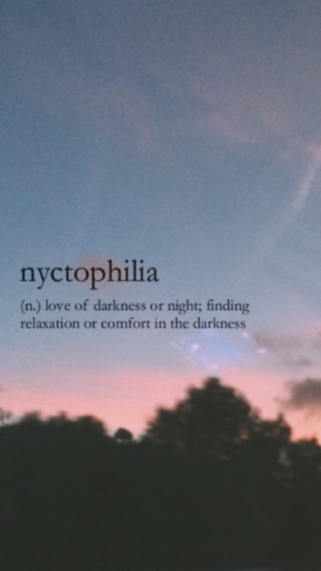 Nyctophilia Discovered By Anomaly On We Heart It