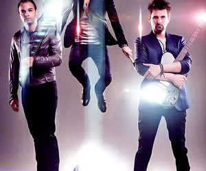 muse, Matt Bellamy, and chris wolstenholme image