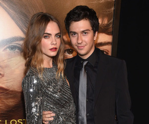 cara delevingne, nat wolff, and model image