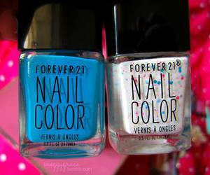 forever 21, nails, and nail color image