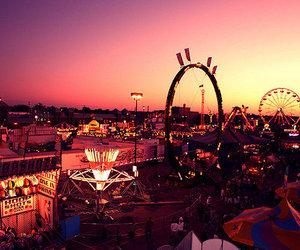 fun, light, and carnival image